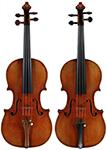 """""""Rosenblith"""" 1713 Strad Violins, #806 & #807"""